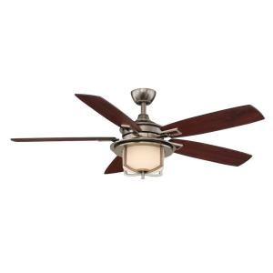 Hampton Bay Devereaux II 52 in. Gunmetal Ceiling Fan-AL685-GM at The Home Depot $159.00
