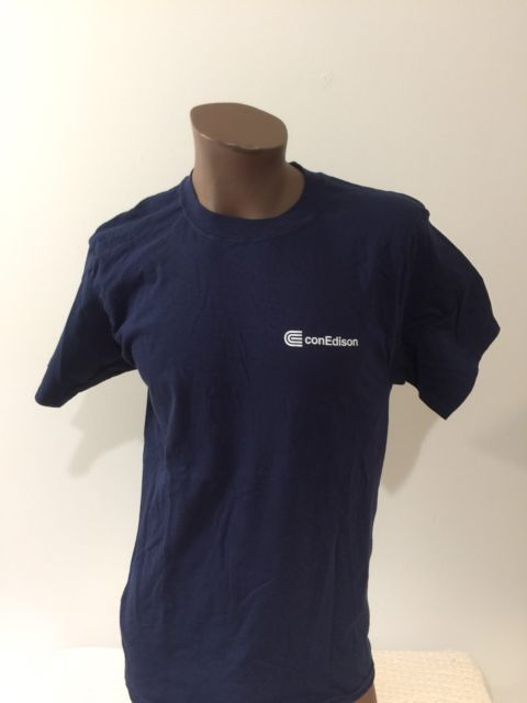 Con Edison Medium Tshirt NY Electricity Utility Building On Steam Work Shirt | eBay