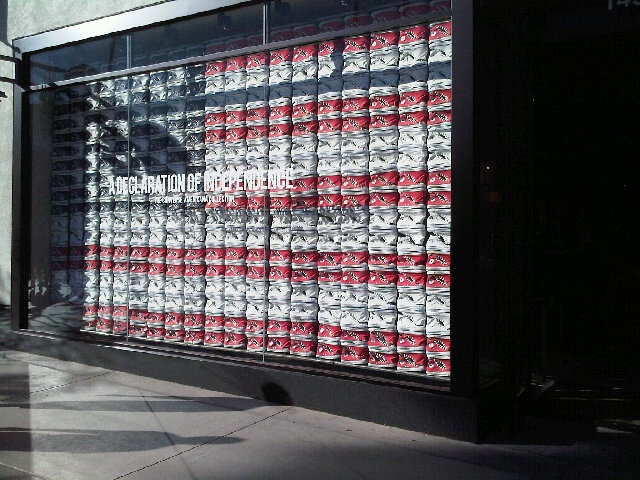 memorial day window decorations