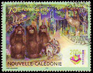 New Caledonia postage stamp (2004)