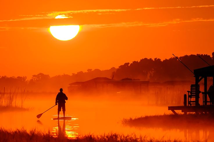 Sunrise Paddle by Pete Surrette on 500px