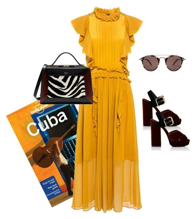 """""""Viva La Cuba!"""" by luluuheree on Polyvore featuring Lonely Planet, Marissa Webb, Oliver Peoples, Prada and Mulberry"""
