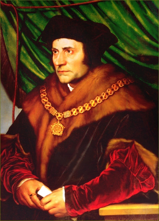 Thomas More (1478-1535)  Thomas More was tried and executed for treason in 1535 because he wouldn't support King Henry VIII's marriage annulment and denied that the king was the head of the Church. Before being beheaded, he said his last words in reference to his beard. He positioned his beard on the executioner's block so that it wouldn't be harmed while he was beheaded