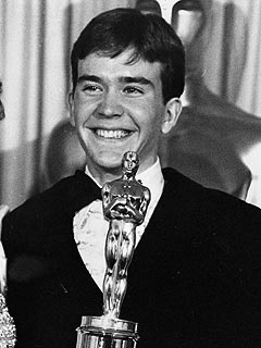 Timothy Hutton, Best Supporting Actor of 1980 for his performance in Ordinary People