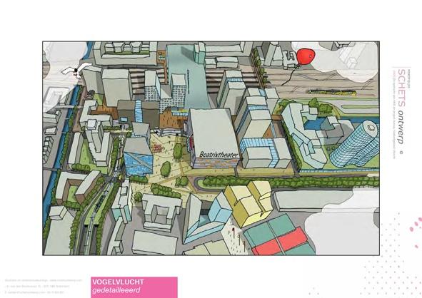 ©  www.SCHETSontwerp.com in opdracht van HKB stedenbouwkundigen