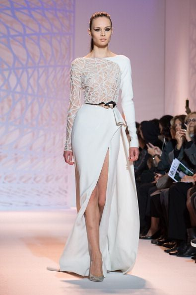 Zuhair Murad : Runway - Paris Fashion Week : Haute-Couture Fall/Winter 2014-2015