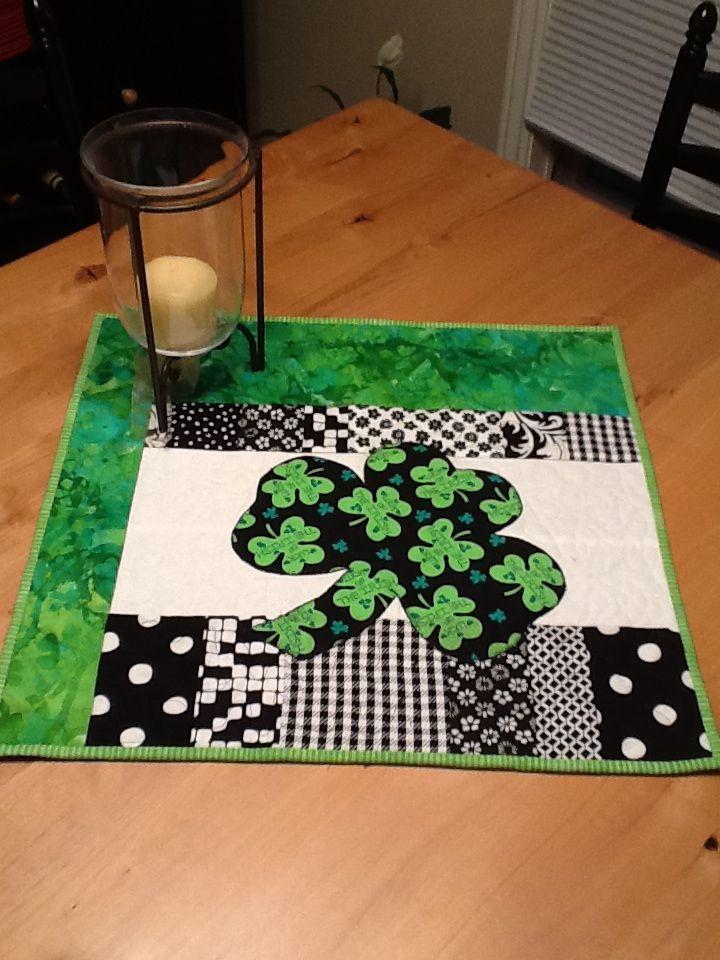 St. Patrick's table runner!