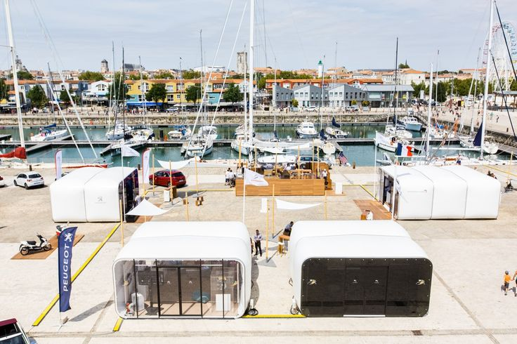 Four AirClad Xpo event systems touring around France with Peugeot showcasing their new model.