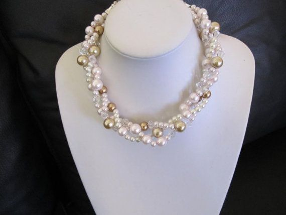 17 best images about three strand necklace ideas on