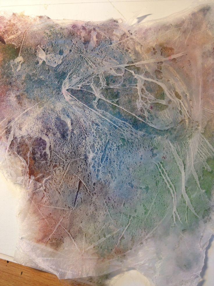 Textile process using natural dye.