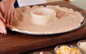 recette pizza volcan au centre