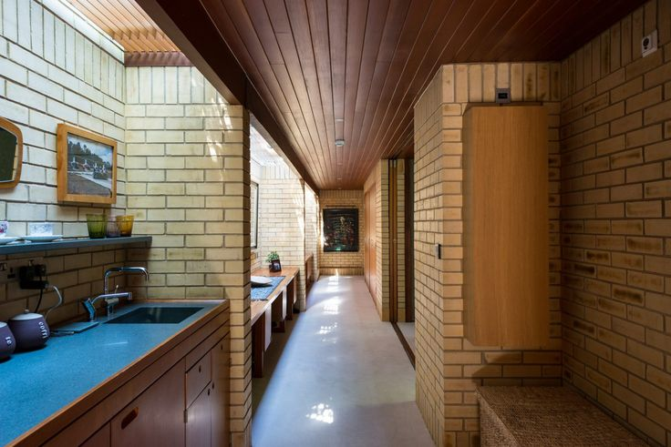 "Modernist ""Ahm House"" by Jorn Utzon"