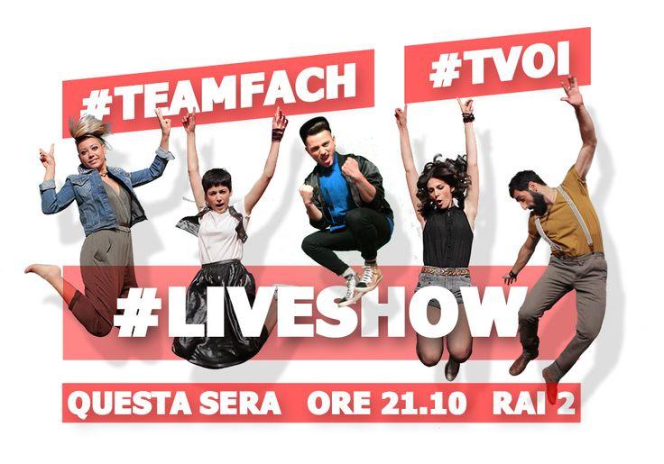 #TeamFach #LiveShow #SarahJaneOlog #ChiaraDelloIacovo #AJSummers #AlessiaLabate #FabioCurto #TVOI