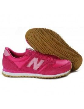 NEW BALANCE 1400 FEMME PINK ROUGE MARRON CHAUSSURES