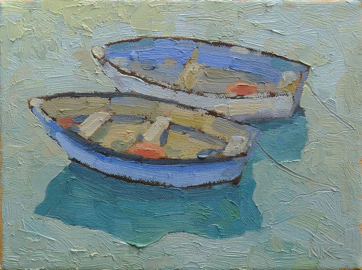 irish boats 01, oil, 18x24cm