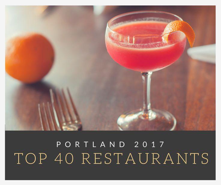 The 40 best restaurants in Portland. http://trib.al/BtB0htq