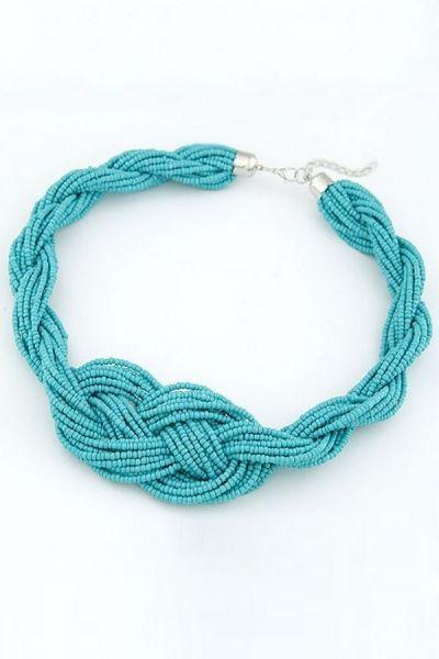 Beaded Multi-strand Necklace