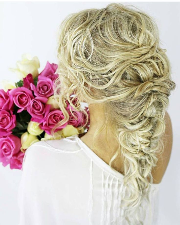 Beautiful hair styling by Kristy Gibson