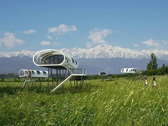 Limited Edition: A Lofty Treehouse Hotel Set Amidst Vineyards in Mendoza | Inhabitat - Sustainable Design Innovation, Eco Architecture, Green Building