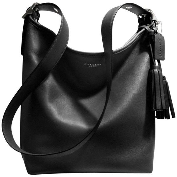 Coach Legacy Duffle Shoulder Bag , Black found on Polyvore
