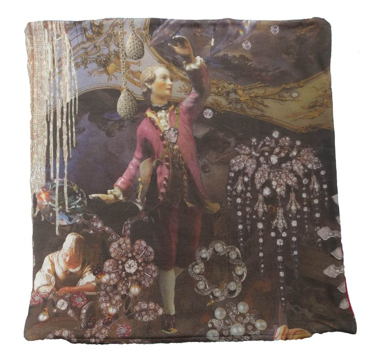 The cushion is digitally printed and shows part of the famous story The Snow Queen by Hans Christian Andersen #snowqueen #boy #hcandersen #cushion #pillow #decor #digitalprint #cushionsale #shop #handmade #buy #art #fairytale #homedesign #print #interiordesign #luxury #story #forbed