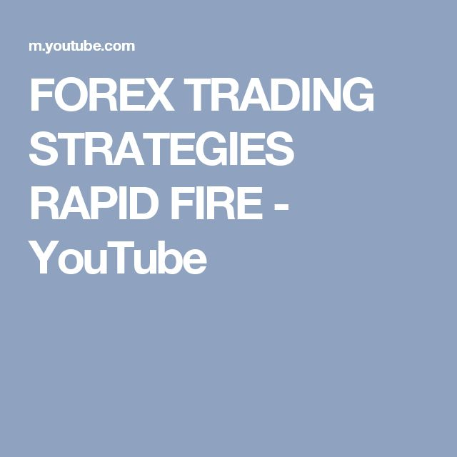 Best forex strategy youtube