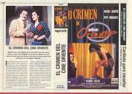 Un altre pelicula rodada al Casino on surten molts extres del barri del poblenou incluid el Peretti i el Tonetti El Crimen en el cine Oriente ( Pepe Rubianes i Anabel Alonso )
