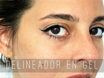 Cómo aplicar el delineador en Gel tutorial de maquillaje