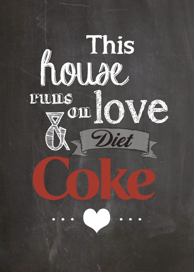Free Diet Coke Printable @moxiethrift on etsy Gravis Dickmann @Breanne Bolton Bolton Carrigan