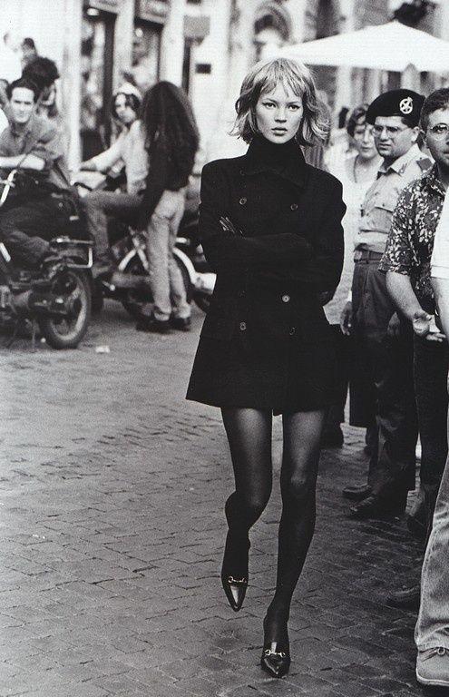 Kate Moss for Harper's Bazaar - September 1994 by C@rol