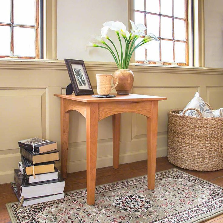 cherry wood end tables living room. Add a little extra Vermont style to your living room with an American  Shaker End Table Handmade from solid cherry wood this table is great place put 117 best Living Room Furniture images on Pinterest