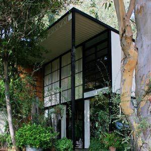 Чарльз и Рэй Эймс. Charles Ormand Eames & Ray Eames. Eames House