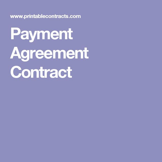 Top  Best Payment Agreement Ideas On   Business