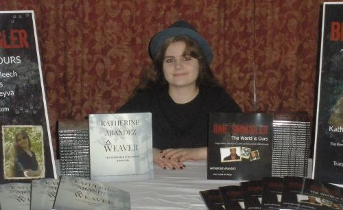 My books have been published! There are two of them, The Kervanian Chronicles: Weaver, and BMF Smuggler. Get your signed copy today at www.kawriter.com.