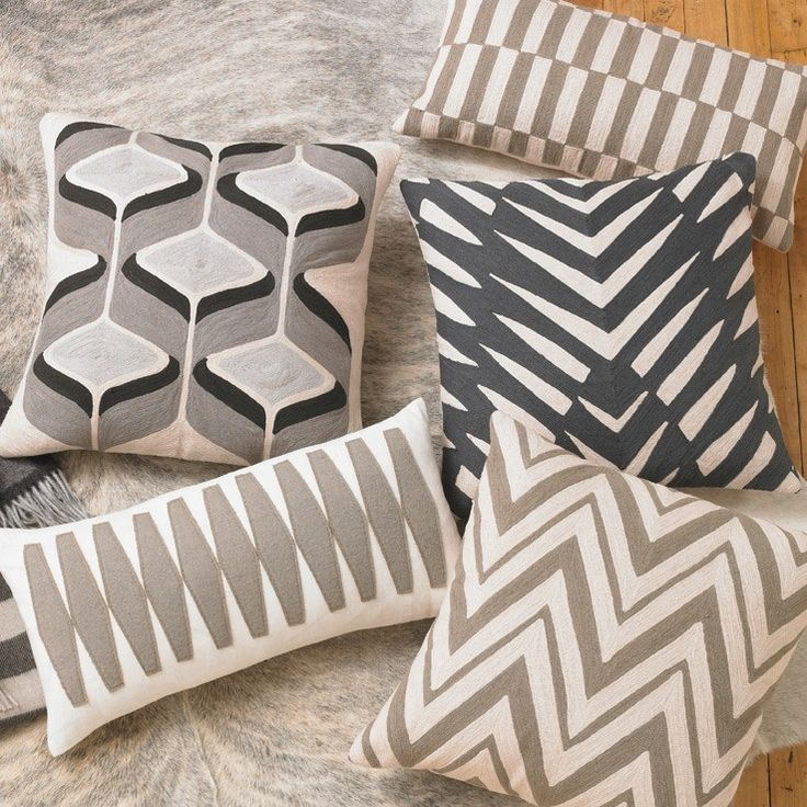 DwellStudio Home Eva Dove Pillow #laylagrayce #pillows #new: Dove Pillows, Fall Decor, Decor 2013, Ash Pillows, Pillows Inspiration, Dads Houses, Decor Inspiration, Chevron Ash, Decor Pillows
