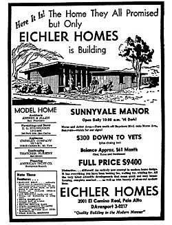 eichler homes poster loved them . two full blocks of them on Roosevelt st. Redwood city ca.