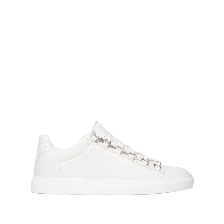 Balenciaga Fall 2016 Sneaker: Men Arena low white classic