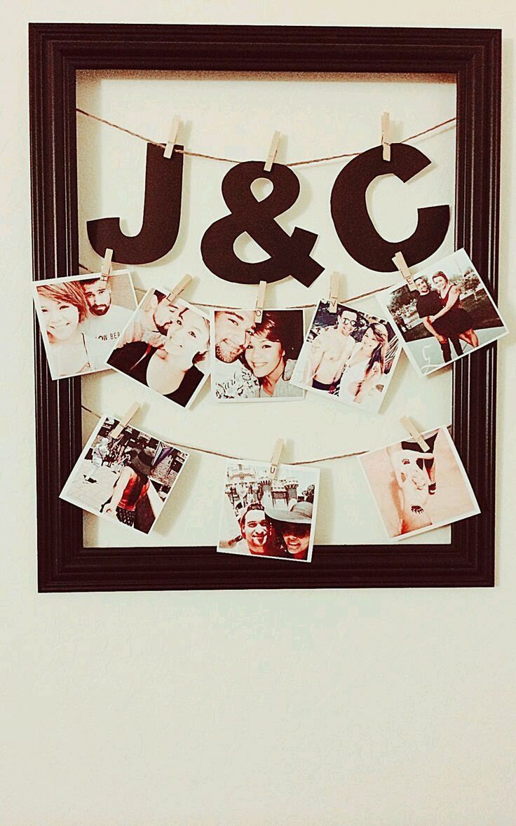 25 best ideas about boyfriend picture frames on pinterest for Boyfriend gifts for anniversary