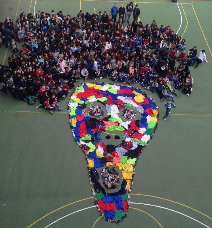 ¡Enorme grito! En este caso realizado por los alumnos y alumnas del Colegio Nra. Sra. del Pilar de Zaragoza con la coordinación de nuestra ya conocida Sara Anes #musaranamuseo #thescreamfromnature