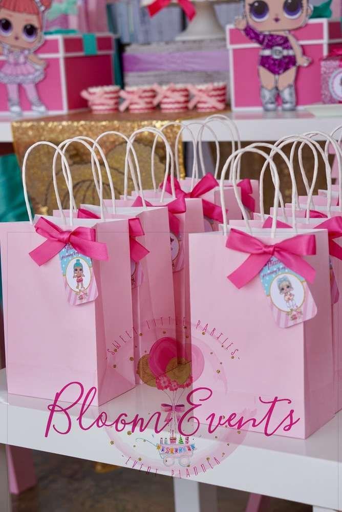 LOL Surprise Dolls Birthday Party Ideas