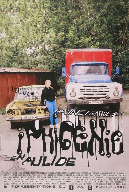 M/M (Paris), Iphigénie en Aulide, FR 2001