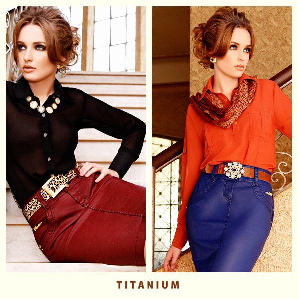 Batalha de looks Titanium! Qual você prefere?