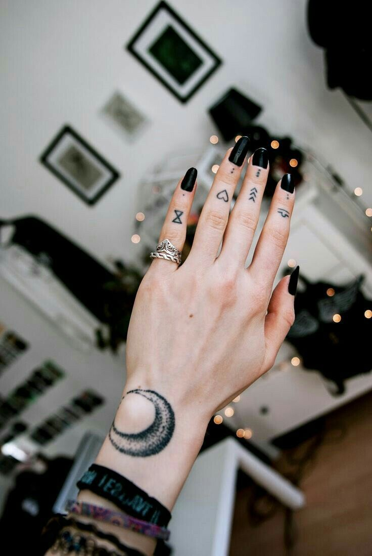 The placement of the wrist tat – simone herbert