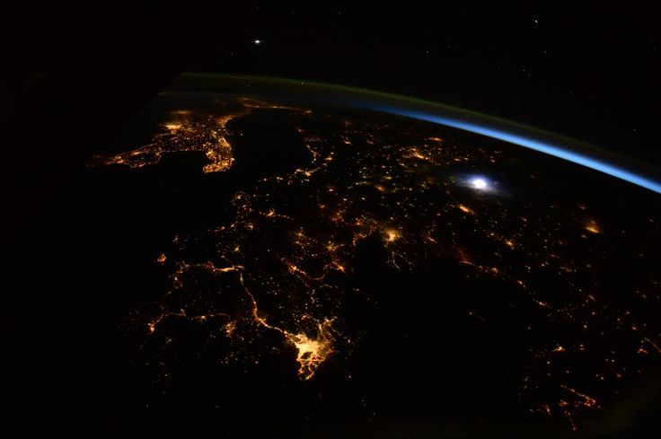A moving night view of #Europe. From #Greece up the Balkans and the Adriatic. Where do you think is that lightning?