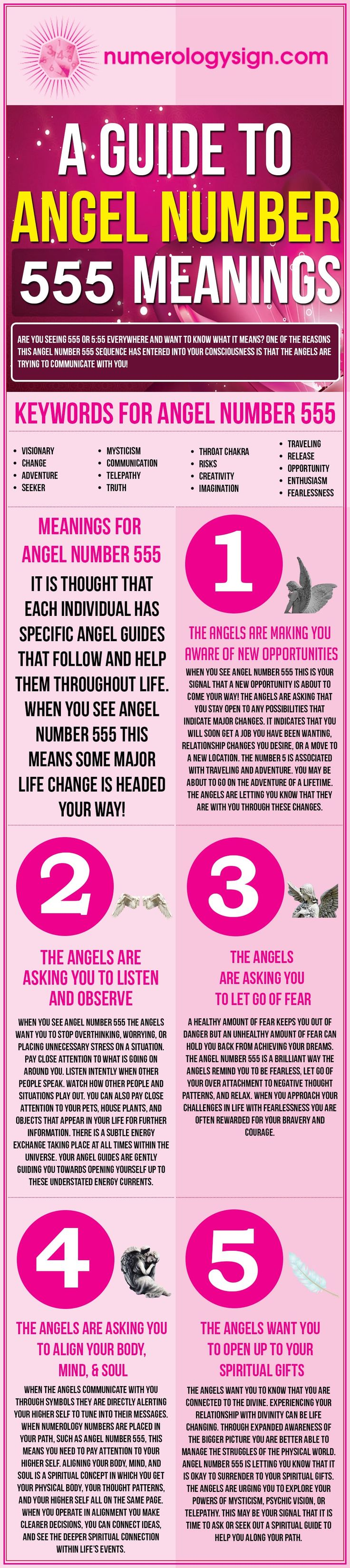 Angel Number 555 Meanings  U2013 Why Are You Seeing 5 55   With
