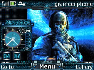Free Call of Duty Ghost theme by bdroid on Tehkseven