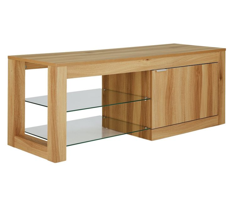 Buy Hygena Cubic TV Unit - Oak Effect at Argos.co.uk, visit Argos.co.uk to shop online for Entertainment units and cabinets, Living room furniture, Home and garden