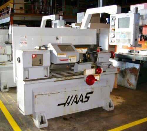 2001 HAAS TL1 CNC / MANUAL TOOLROOM LATHE
