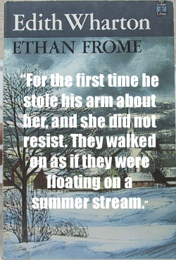 indecisiveness in the characters in the novel ethan frome by edith wharton Edith wharton wrote ethan frome as a frame story — meaning that the prologue and epilogue constitute a frame around the main story  book summary  that allows wharton to relate the thoughts and feelings of all the characters ethan.