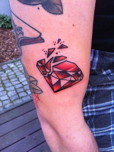 shattered diamond